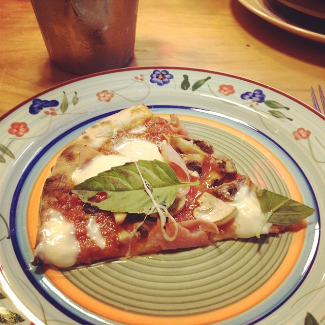 #pizza bolognesa de Mamma Tomato